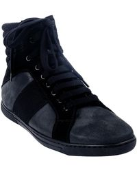 Givenchy High Top Sneaker black - Lyst