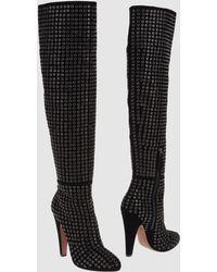 Alaïa Black High-heeled Boots - Lyst