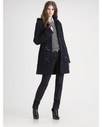 Proenza Schouler Wool Toggle Coat - Lyst