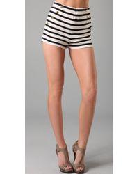 By Malene Birger | Nacci Stripe Sailor Shorts | Lyst
