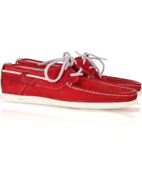 NDC | Alithia Nubuck Boat Shoes | Lyst
