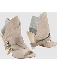 Cinzia Araia Ankle Boots - Lyst