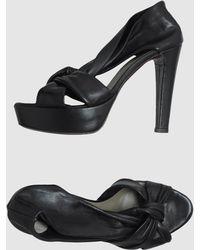 Malloni - Platform Sandals - Lyst