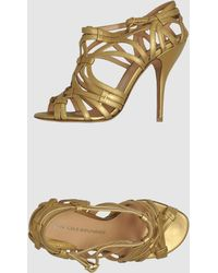 Nicole Brundage - High-heeled Sandals - Lyst