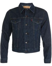 Opening Ceremony X Levi's Trucker Jacket - Blue - Lyst