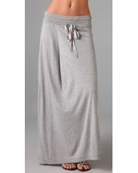 Dolan - Maxi Pleat Skirt - Lyst