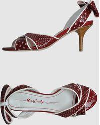 Miss Sixty High-heeled Sandals - Lyst