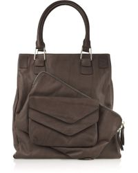 Pauric Sweeney Pocket Leather Tote - Lyst
