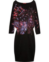 Vivienne Tam - Printed Stretch-jersey Dress - Lyst