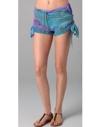 OndadeMar - Sea Of Atlas Cover Up Shorts - Lyst