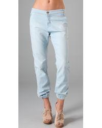 James Jeans - Tailored Denim Joggers - Lyst