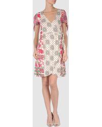 Odd Molly White Short Dress - Lyst