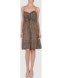 Tocca - Short Dress - Lyst