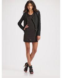 Improvd - Layne Leather Jacket - Lyst