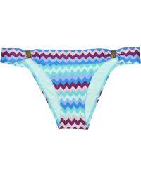 ViX Teresa Printed Bikini Briefs - Lyst