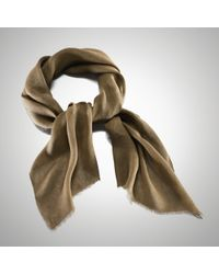Ralph Lauren Collection | Solid Linen Scarf | Lyst