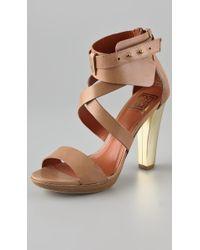 Pour La Victoire - Macaria High Heel Sandals - Lyst