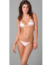 ViX Yacht Triangle Bikini Top - Lyst