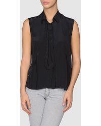 Anne Valerie Hash Sleeveless Shirt - Lyst