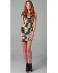 Torn By Ronny Kobo - Barbara Striped Dress - Lyst