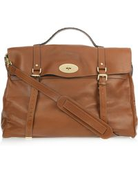 Mulberry Oversized Alexa Leather Weekend Bag - Lyst