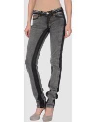 D&G Straight leg, stretch jeans - Lyst