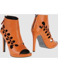 Giuseppe Zanotti x Christopher Kane Ankle Boots - Lyst