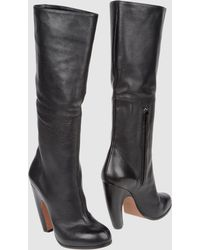 Nicole Brundage High-heeled Boots - Lyst