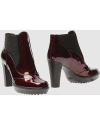 Tod's Ankle Boots - Lyst