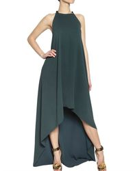 Lanvin Washed Silk Crepe Dress - Lyst