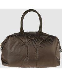 Yves Saint Laurent Rive Gauche Large Fabric Bag - Lyst