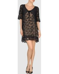 Odd Molly Black Short Dress - Lyst