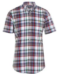 Polo Ralph Lauren Custom Fit Check Shirt - Lyst