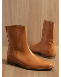 Mr. Hare - Men Spector Leather Half Boots Tan - Lyst