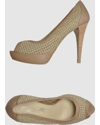 Innue' Pumps with Open Toe - Lyst