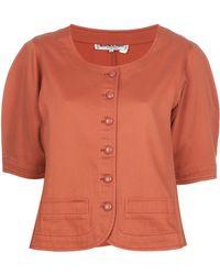 Yves Saint Laurent Vintage Vintage Cotton Jacket - Lyst