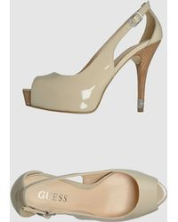 Guess Pumps with Open Toe - Lyst