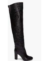Viktor & Rolf | Lizard Thigh-high Boots | Lyst