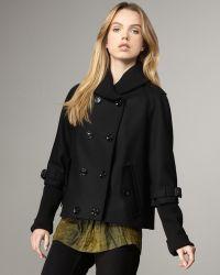Burberry Brit - Layer-sleeve Swing Jacket - Lyst