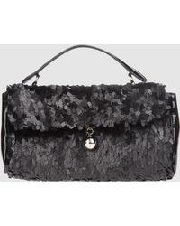 Furla Medium Fabric Bag - Lyst