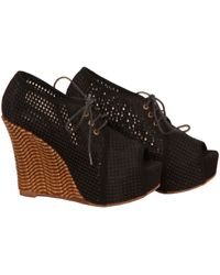 Jeffrey Campbell Be Well in Black - Lyst