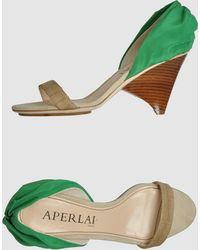 Aperlai - High-heeled Sandals - Lyst