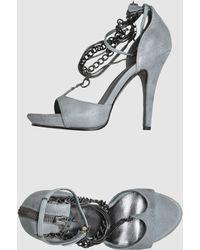 Diesel Platform Sandals - Lyst