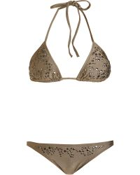 Melissa Odabash - Monte Carlo Studded Triangle Bikini - Lyst