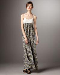 Torn - Robyn Crochet-top Jungle Dress - Lyst