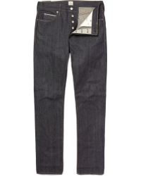 J.Crew | 484 Japanese Selvedge Jean In Raw Indigo | Lyst