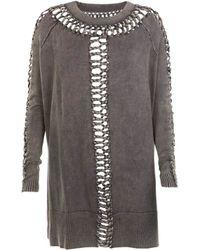 AllSaints Bea Laurentia Jumper Dress - Lyst