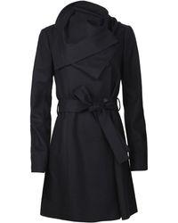 AllSaints Belamour Coat - Lyst