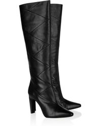 Kors by Michael Kors - Cooper Leather Knee Boots - Lyst