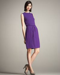 Lyn Devon - Pleated-skirt Tea Dress - Lyst
